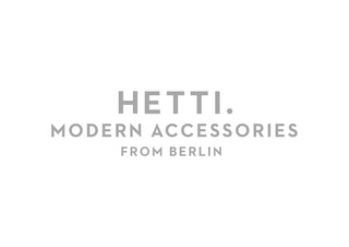 New corporate design for Hetti.<br />More coming soon